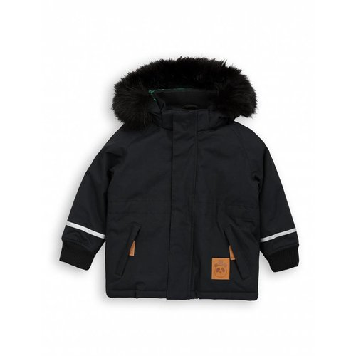 Mini Rodini K2 FOX FAMILY Parka Black