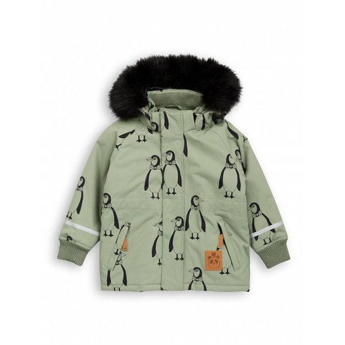 Mini Rodini K2 PENGUIN Parka green