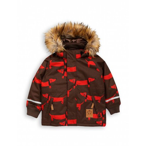 Mini Rodini K2 DOG Parka Brown