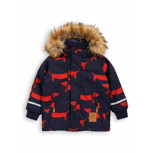 Mini Rodini K2 DOG Parka navy