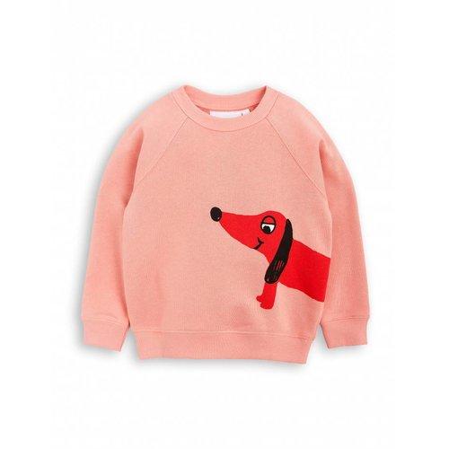 Mini Rodini DOG SP Sweatshirt Pink
