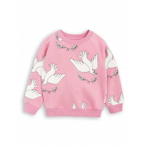 Mini Rodini PEACE Sweatshirt Pink