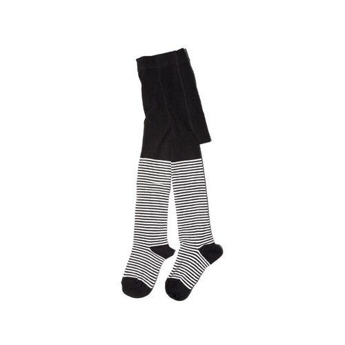 MINGO Tights b/w Stripes
