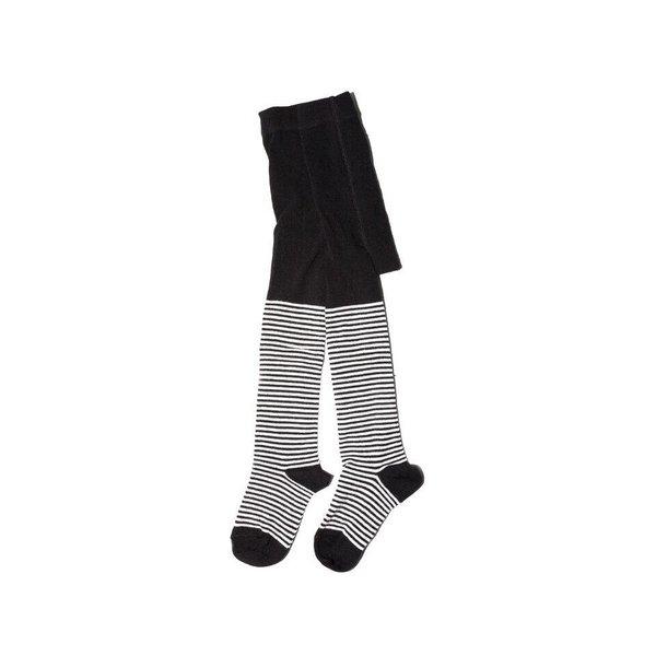 Tights b/w Stripes maillot