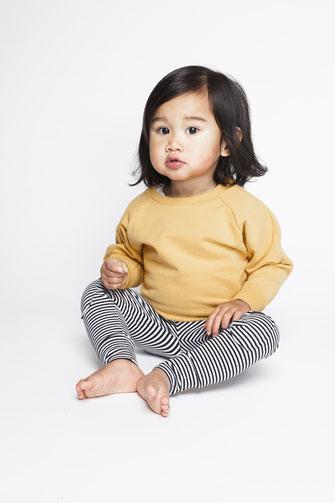 mingo Ocher sweater stripes legging