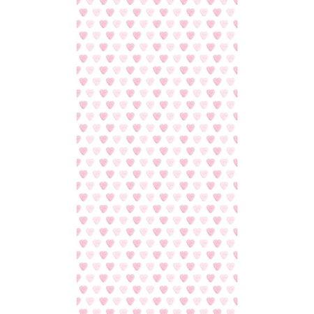 KEK Amsterdam Pink hearts wallpaper