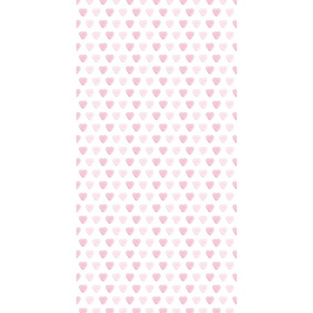 KEK Amsterdam Roze hartjes behang