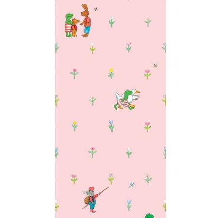 KEK Amsterdam Kikker wallpaper pink
