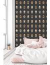 Rijkswachters Robots wallpaper black