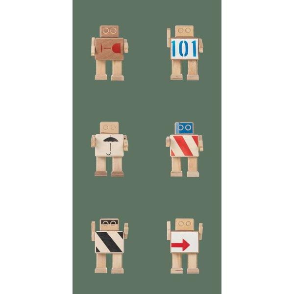 Rijkswachters Robot Behang army