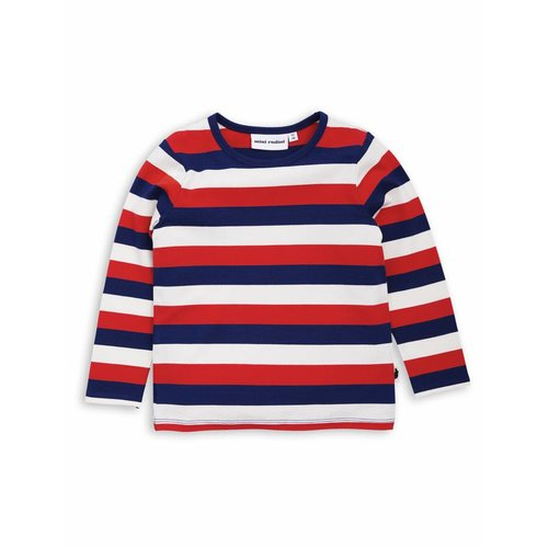 Mini Rodini Blockstripe LS Tee multi