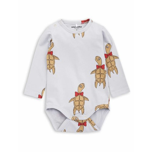 Mini Rodini Turtle LS Body grey