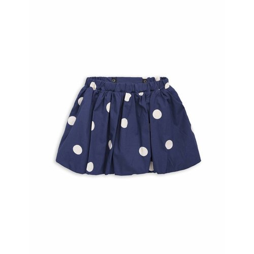 Mini Rodini Dot woven Skirt navy rok