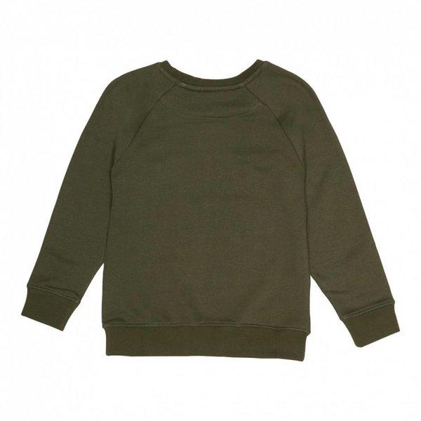 Chaz Sweatshirt Burnt Olive Leo