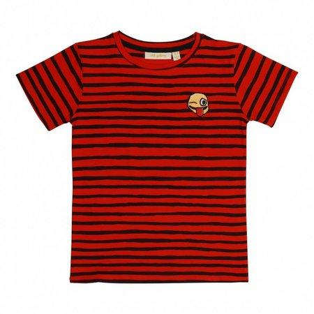 Soft Gallery Bass T-shirt AOP Ribbon Big Smiley