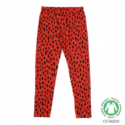 Soft Gallery Chantay Pants AOP Pebbles Mega Flame Scarlet