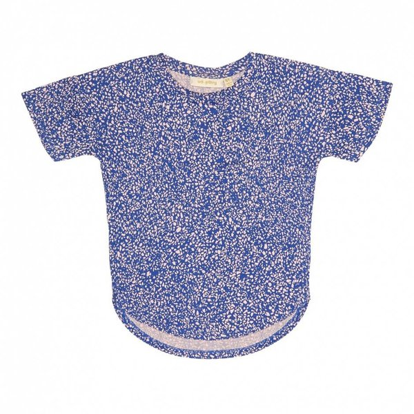 Alissa T-shirt AOP Chips Cream Gardenia  - Copy