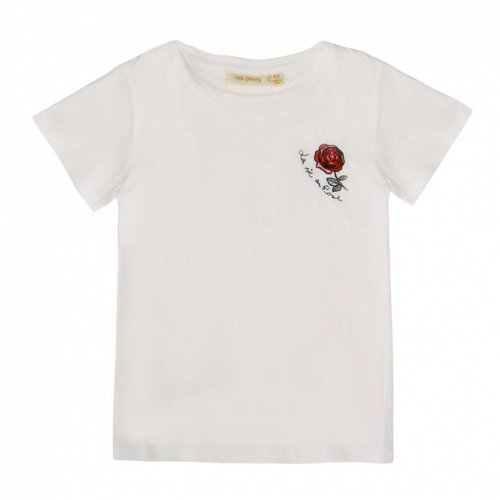 Soft Gallery Bass T-shirt Rose White