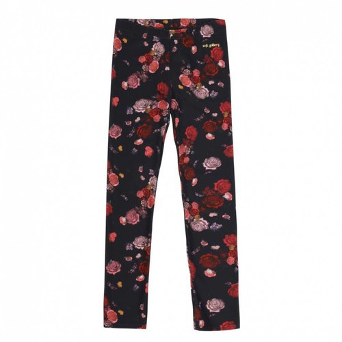 Soft Gallery Paula Leggings AOP Bloom India Ink