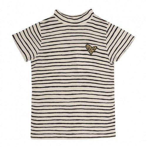 Soft Gallery Aulona T-shirt AOP Ribbon Small Gardenia