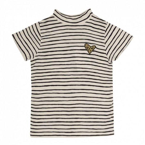 Aulona T-shirt AOP Ribbon Small Gardenia