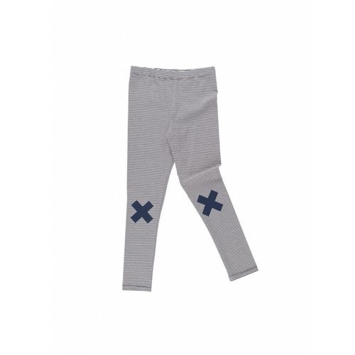 Tinycottons Multi Lines Logo Pant broek