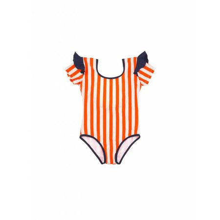 Tinycottons Stripes & Frills Swimsuit zwempak