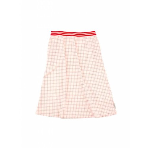 Tinycottons Grid Mid-lenght Skirt