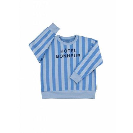 Tinycottons Hôtel Bonheur Graphic FT Sweatshirt trui