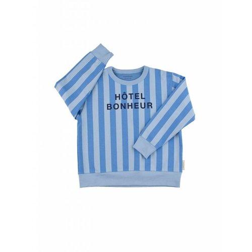Tinycottons Hôtel Bonheur Graphic FT Sweatshirt