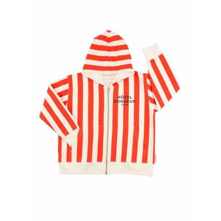 Tinycottons Hôtel Bonheur Staff Graphic FT Hoody vest