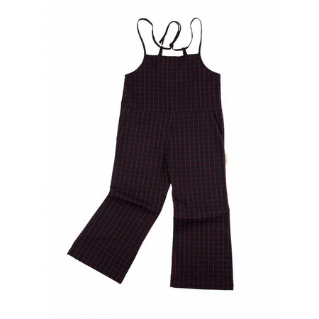 Tinycottons Grid wv Long onepiece jumpsuit