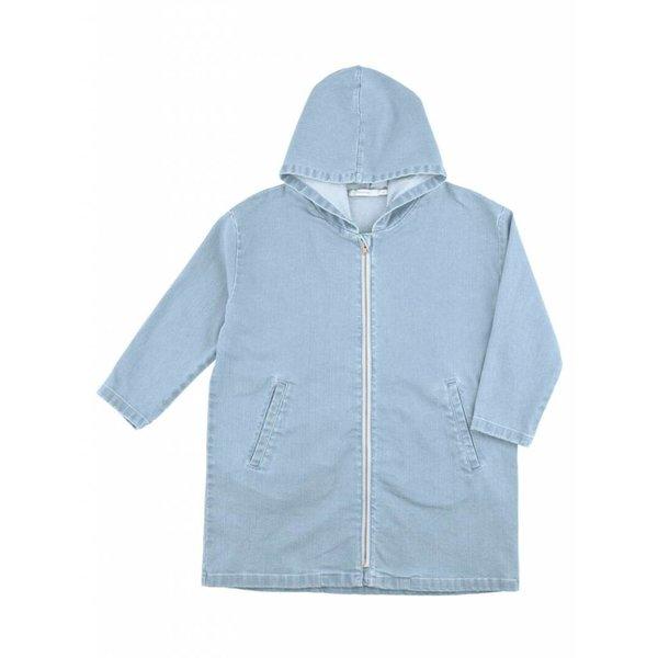 Denim Oversized Jacket jas