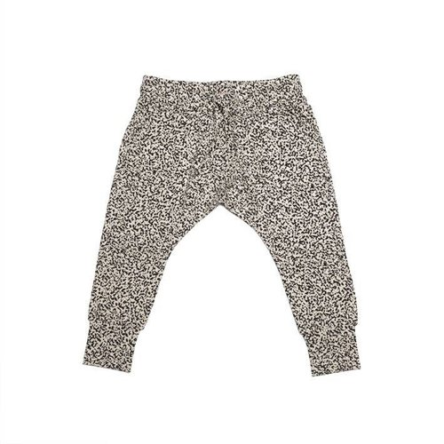MINGO Slim Fit Jogger Speckles broek