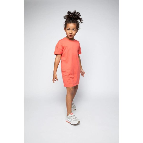 T-shirt Dress Deep Sea Coral