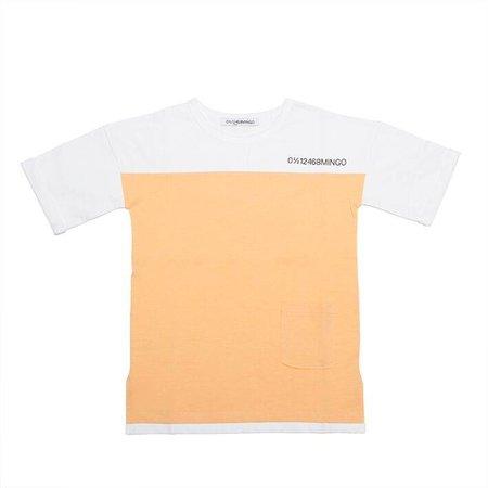 MINGO T-shirt Apricot White