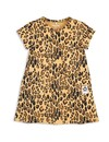 Basic Leopard Dress beige