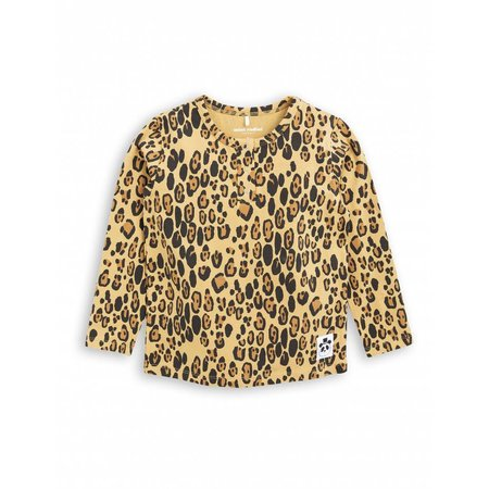 Mini Rodini Basic Leopard Grandpa shirt