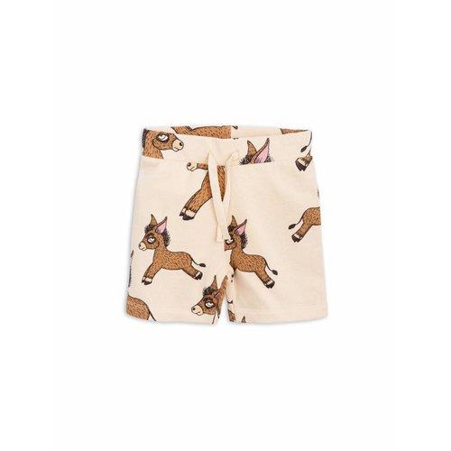 Mini Rodini Donkey AOP Sweatshorts korte broek