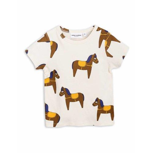 Mini Rodini Horse SS Tee Yellow