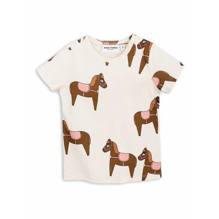 Mini Rodini Horse SS Tee Pink