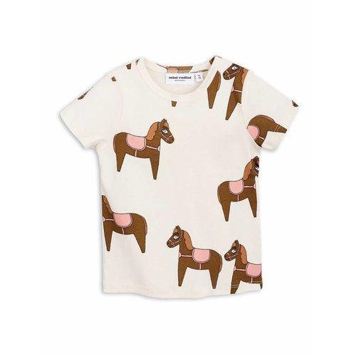 Mini Rodini Horse SS Tee Pink shirt