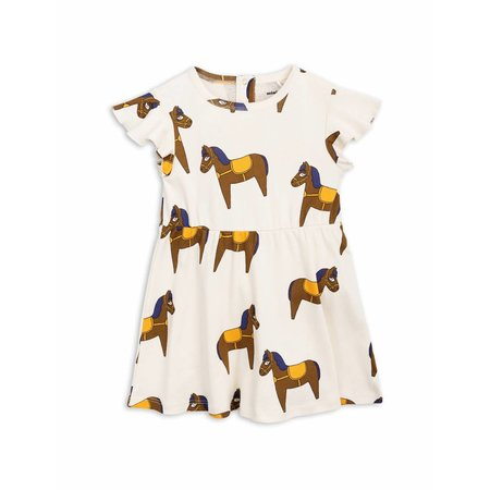 Mini Rodini Horse Dress yellow