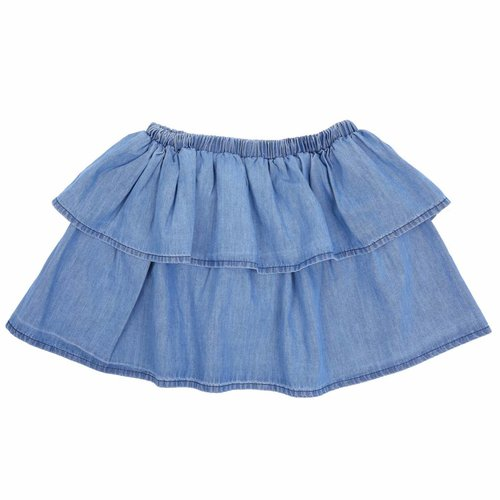 Emile et Ida Skirt Light Chambray
