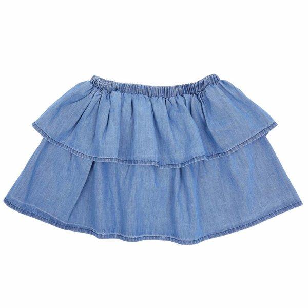 Skirt Light Chambray