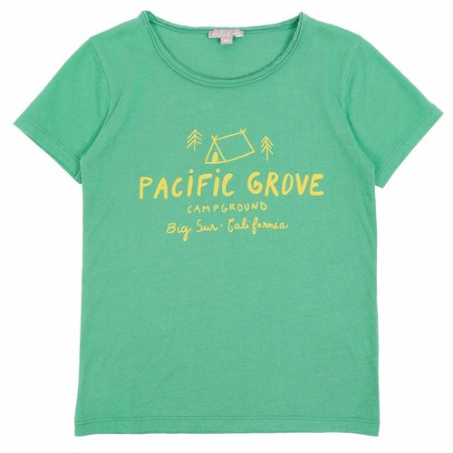 Emile et Ida Tee Shirt Vert Pacific