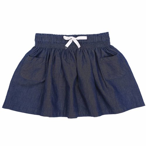 Emile et Ida Skirt Chambray