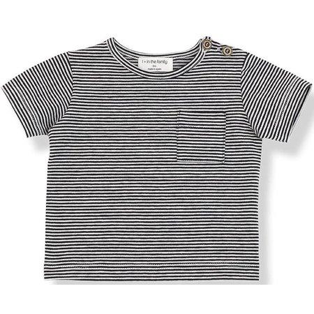 1+ in the Family Albert Short Sleeve t-shirt Blu Notte