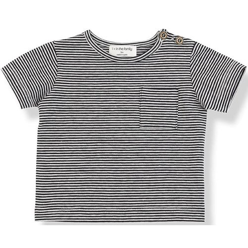 1+ in the Family Albert Short Sleeve t-shirt Blu Notte