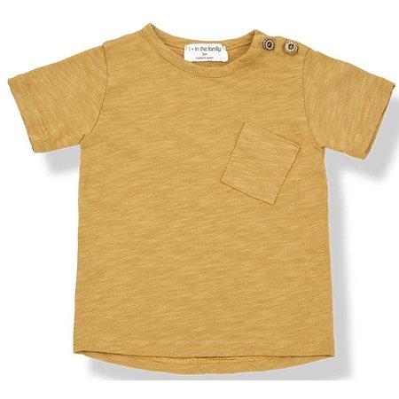 1+ in the Family Judd Short Sleeve Mustard shirt